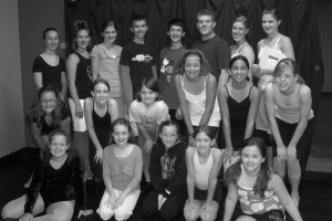 chorus line group shot